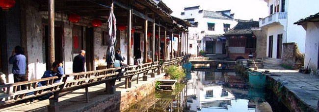 黄山旅游风景区:唐模景区
