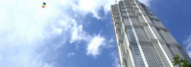 上海金茂大厦高端结构