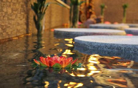 天目湖假日花园酒店 室内水池
