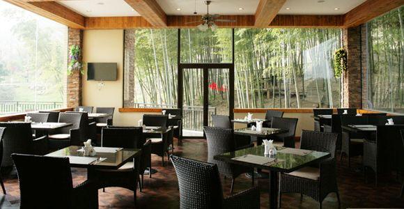 天目湖南山花园酒店早餐厅